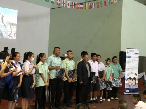 กิจกรรมแนะแนวการศึกษาคณะวิศวกรรมศาสตร์ วันที่ 22 มกราคม 2562 ณ โรงเรียนธัญรัตน์ อำเภอธัญบุรี